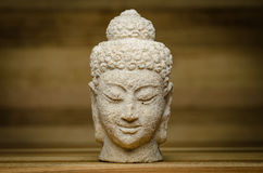 Buddha centered Stock Photography