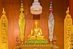 buddha Chiang Rai staty thailand Fotografering för Bildbyråer