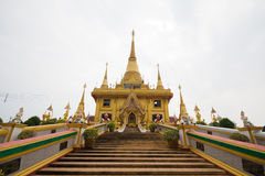 Buddha @ Chiangmai/ Thailand. Way to go to Temple Stock Images