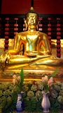 The buddha in chiangmai thailand Stock Photos
