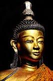buddha chiangmai złoty statuy th Zdjęcia Stock