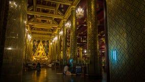 Buddha chinarat phitsanulok Zdjęcia Royalty Free