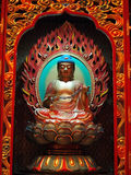 Buddha in chinese temple. Shown a spiritual of buddhist Stock Photography