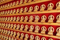 Buddha in a Chinese Temple stock photo