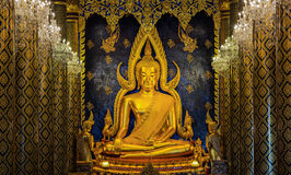 buddha chinnarat phra Obrazy Stock