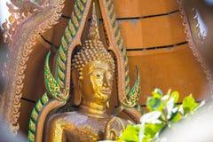 Buddha Chinnarat in thailand at kanchanaburi Stock Photos