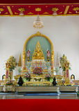 Buddha in church Stock Photography