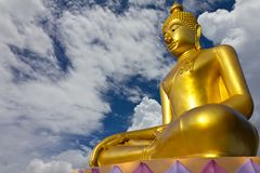 Buddha church roof. Royalty Free Stock Photography