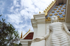 Buddha Church of Wat KoaTaKreab. Huahin Thailand Stock Photo