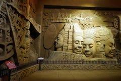 buddha ściana Zdjęcia Royalty Free