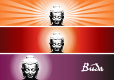 Buddha colors Royalty Free Stock Images
