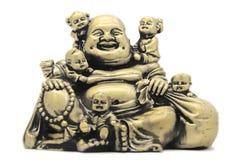 Buddha com crianças Fotos de Stock Royalty Free