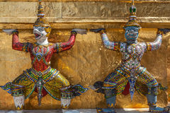 Buddha come guardia in Tailandia Immagini Stock Libere da Diritti
