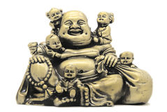 Buddha con i bambini Fotografie Stock Libere da Diritti