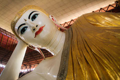 Buddha con il sorriso dolce Immagine Stock
