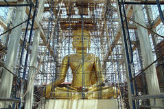 Buddha construction 2 Royalty Free Stock Photography