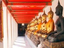 Buddha in corridor of light Stock Image