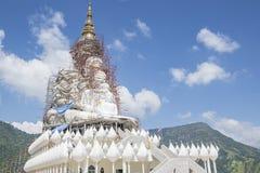 Buddha in costruzione Fotografie Stock Libere da Diritti