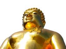 Buddha d'ottone Immagini Stock