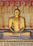 Buddha at Dambulla cave complex,Sri Lanka royalty free stock photography