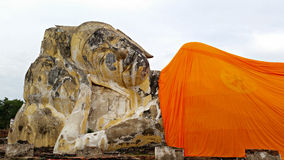 Buddha de colocação antigo Fotos de Stock