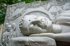 Buddha de descanso Fotos de archivo