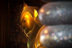 Buddha de descanso Imágenes de archivo libres de regalías