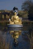 Buddha de flutuação Imagens de Stock Royalty Free