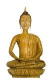 Buddha de madeira Imagens de Stock