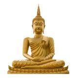 Buddha de oro Imagen de archivo libre de regalías