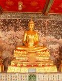 Buddha de oro Fotografía de archivo