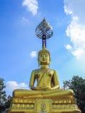 Buddha de oro Imágenes de archivo libres de regalías