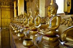 Buddha de oro Fotos de archivo libres de regalías