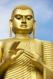 Buddha de oro, Dambulla, Sri Lanka Imagen de archivo