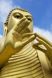 Buddha de oro, Dambulla, Sri Lanka Imágenes de archivo libres de regalías
