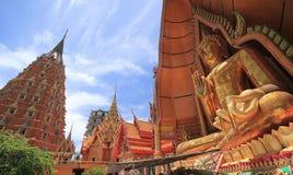 Buddha de oro grande fotografía de archivo libre de regalías
