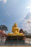 Buddha de oro grande fotografía de archivo