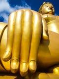 Buddha de oro grande Foto de archivo