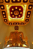 Buddha de oro verdadero Fotografía de archivo
