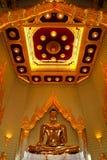 Buddha de oro verdadero Fotos de archivo