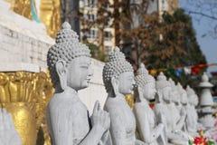 Buddha de piedra de mármol Imagen de archivo libre de regalías