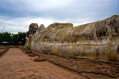 Buddha de reclinação Fotos de Stock