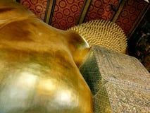 Buddha de reclinação Imagem de Stock