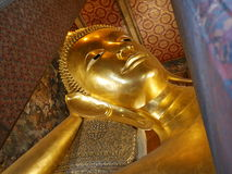 Buddha de reclinação Imagens de Stock