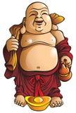 Buddha de riso ilustração stock