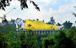 Buddha de sono Fotos de Stock