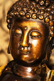 Buddha in deep meditation. Indian Buddha figure royalty free stock photography