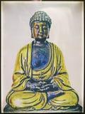 Buddha in deep meditation Stock Photography