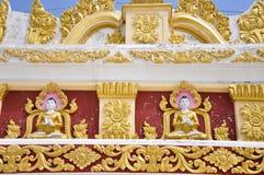 Buddha dekorował na Mandalay wzgórzu Zdjęcie Stock