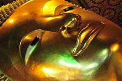 Buddha del templo de Tailandia Bangkok Wat Pho Foto de archivo